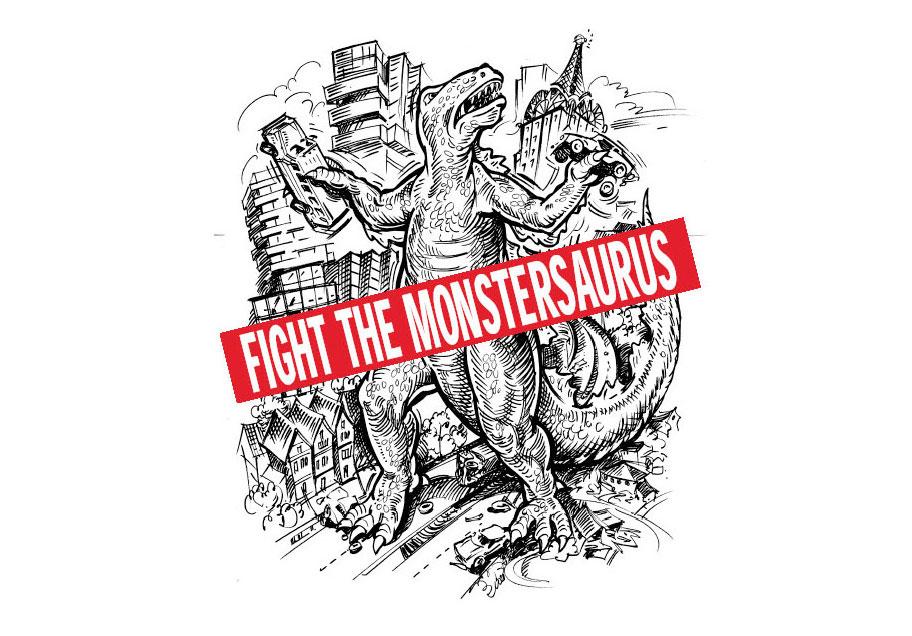 fight-the-mosntersaurus