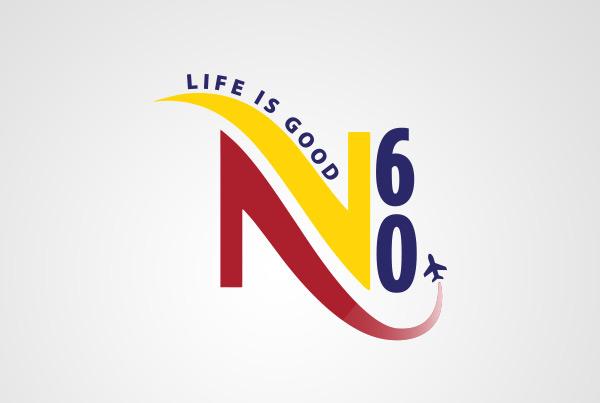 Namby 60 Birthday Logo
